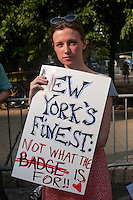 New York, NY -  27 May 2011 - A coalition of concerned New Yorkers, feminists, women's rights advocates, human rights advocates, gathered outside Manhattan Criminal Court at 100 Centre Street to protest the acquittal of two New York City police officers tried for rape...Kenneth Morreno and Franklin Mata were charged with raping a woman in 2008 but were acquitted of the more serious charge. However, the officers were found guilty of the much lesser charges of official misconduct. They are scheduled to be sentenced June 29 and could face up to two years in prison, though they might only get probation.