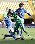 Millonarios empató agónicamente 1-1 ante Equidad en el segundo juego de la fecha 8 de la Liga de fútbol Profesional Colombiano, el cual se disputó este sábado en el estadio Nemesio Camacho El Campín de Bogotá.