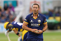 Graham Napier of Essex prepares to bowl during Essex Eagles vs Glamorgan, NatWest T20 Blast Cricket at the Essex County Ground on 29th July 2016
