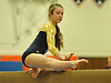 Amanda Ferraro of Bethpage performs on the balance beam during the Nassau County varsity gymnastics individual championships and state qualifiers at Hicksville High School on Tuesday, Feb. 9, 2016.