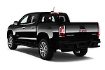 Car pictures of rear three quarter view of 2017 GMC Canyon Denali-Crew 4 Door Pickup Angular Rear
