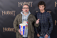 "Alex de la Iglesia attends  ""The Hobbit: An Unexpected Journey"" premiere at the Callao cinema- Madrid."