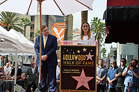 John Goodman &amp; Brie Larson Hollywood Walk of Fame star ceremony honoring actor John Goodman. Los Angeles, USA 10 March  2017<br /> Picture: Paul Smith/Featureflash/SilverHub 0208 004 5359 sales@silverhubmedia.com