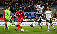 Bolton Wanderers' Clayton Donaldson scoring his side's third goal<br /> <br /> Photographer Andrew Kearns/CameraSport<br /> <br /> Emirates FA Cup Third Round - Bolton Wanderers v Walsall - Saturday 5th January 2019 - University of Bolton Stadium - Bolton<br />  <br /> World Copyright &copy; 2019 CameraSport. All rights reserved. 43 Linden Ave. Countesthorpe. Leicester. England. LE8 5PG - Tel: +44 (0) 116 277 4147 - admin@camerasport.com - www.camerasport.com