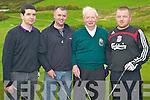 Enjoying the Glenflesk GAA golf classic in Lacabane, Killarney on Saturday were Terence Sheehan, Kevin Sheehan, George Sheehan and Ger McCarthy.