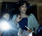 Gilda Radner attends a Performance on Broadway on March 1, 1981 in New York City.