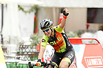 Chloe Hosking (AUS) Alé Cipollini wins Stage 2 of the Ceratizit Madrid Challenge by La Vuelta 2019 running 98.6km around Madrid, Spain. 15th September 2019.<br /> Picture: Luis Angel Gomez/Photogomezsport | Cyclefile<br /> <br /> All photos usage must carry mandatory copyright credit (© Cyclefile | Luis Angel Gomez/Photogomezsport)