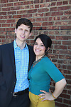Annalisa Derr and Nick Lewis - Empire The Series films on set June 3, 2012  in Brooklyn, New York. (Photo by Sue Coflin/Max Photos)