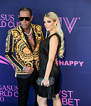 January 25, 2020: Scenes from the blue carpet during the Pegasus World Cup Invitational at Gulfstream Park Race Track in Hallandale Beach, Florida. John Voorhees/Eclipse Sportswire/CSM