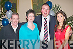 SOCIAL: Enjoying the Kerins O'Rahillys social at their clubhouse on Saturday l-r: George and Breda Dyland, Ballyrickard and Nigel and Mary Crowe, The Kerries.