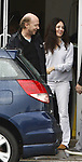 1-6-09 Exclusive.Madeleine Stowe having coffee in Santa Monica at Cafe Luxe with her husband. She went home and changed her outfit but her nipples were still super hard and her zipper was down. ...Www.AbilityFilms.com.805-427-3519.AbilityFilms@yahoo.com.