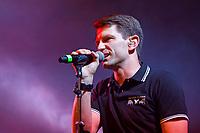Felix Marc von Frozen Plasma live auf dem XIII. Amphi-Festival 2017 im Tanzbrunnen. Köln, 22.07.2017