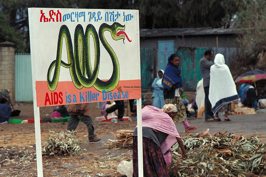 Awarenes campaign agains AIDS