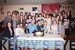 Cameron Boyle from Cahersiveen seated front centre celebrated his 18th birthday with family and friends at The Shebeen Bar, Cahersiveen on Saturday night.