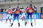 14/12/2019, Hochfilzen, Austria. Biathlon World Cup IBU 2019 Hochfilzen.<br /> Women 4x6 km Relay race,