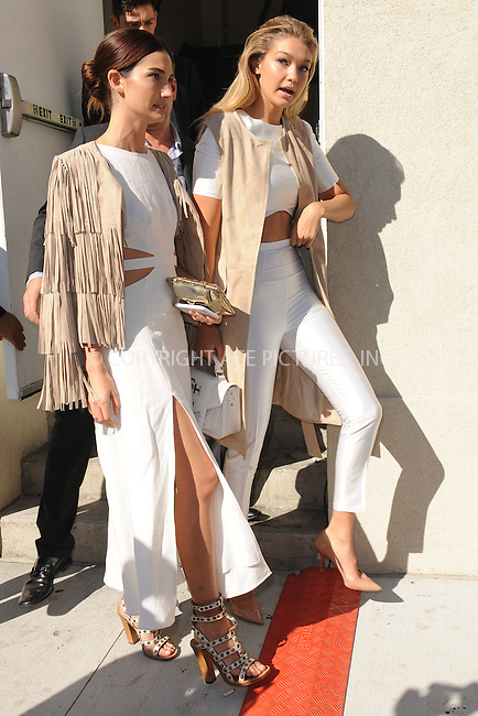 WWW.ACEPIXS.COM<br /> September 15, 2015 New York City<br /> <br /> Lily Aldridge and Gigi Hadid attending the KIA STYLE360 Hosts Serena Williams Signature Collection By HSN on September 15, 2015 in New York City.<br /> <br /> Credit: Kristin Callahan/ACE Pictures<br /> <br /> Tel: (646) 769 0430<br /> e-mail: info@acepixs.com<br /> web: http://www.acepixs.com