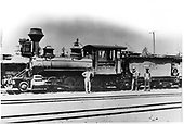 D&amp;RG locomotive #52 built in 1880.<br /> D&amp;RG  Chama, NM
