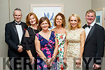 Style<br /> -------<br /> L-R Tom Mcgillicuddy, Deirdre Walsh, Anne Mooney, Margo Burns, Miriam Mcgillicuddy with Mike Dilane at the Connect Kerry Woman in Business awards night in the Ballyroe heights hotel, Tralee last Friday.