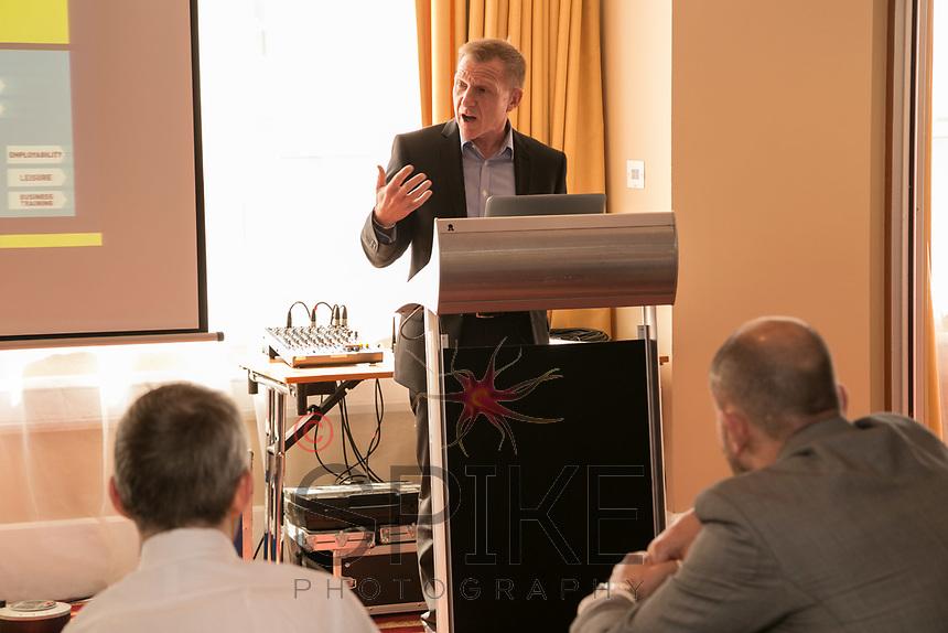 Guest speaker John Van de Laarschot of Nottingham College