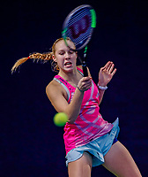 Hilversum, Netherlands, December 3, 2017, Winter Youth Circuit Masters, 12,14,and 16 years, Melissa Boyden (NED)<br /> Photo: Tennisimages/Henk Koster
