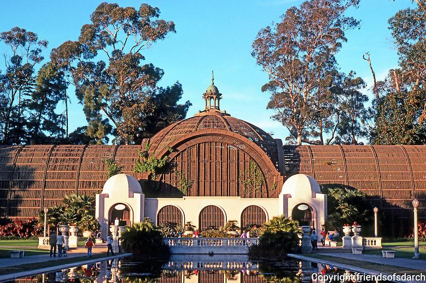 San Diego: Balboa Park--Botanical Building.