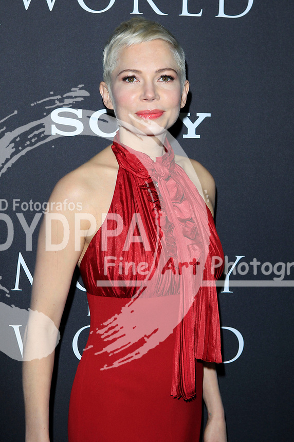Michelle Williams bei der Premiere des Kinofilms 'All the Money in the World / Alles Geld der Welt' im Samuel Goldwyn Theater. Beverly Hills, 18.12.2017