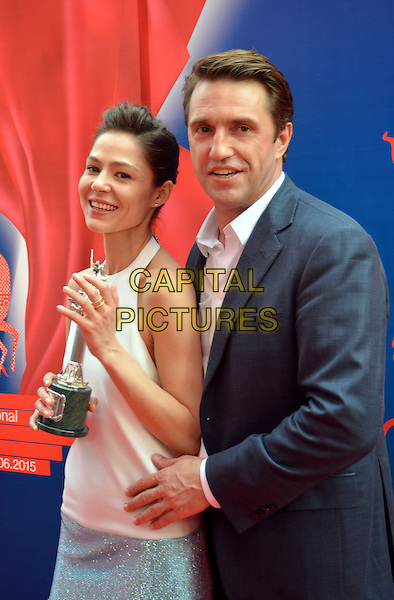 MOSCOW, RUSSIA, JUN 28: Elena Lyadova, Vladimir Vdovichenkov, 37th Moscow International Film Festival Closing, Moscow, Russia, 28th June 2015.<br /> CAP/PER<br /> &copy;PersonaStars/CapitalPictures