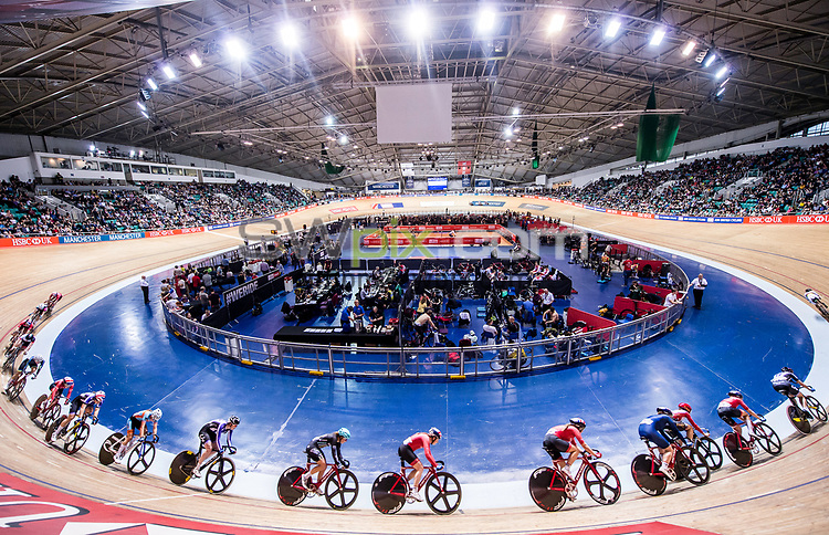 Picture by Allan McKenzie/SWpix.com - 28/01/2018 - Cycling - Track Cycling - HSBC UK National Track Championships - HSBC UK National Cycling Centre, Manchester, England - A general view, GV, velodrome, The Brief.