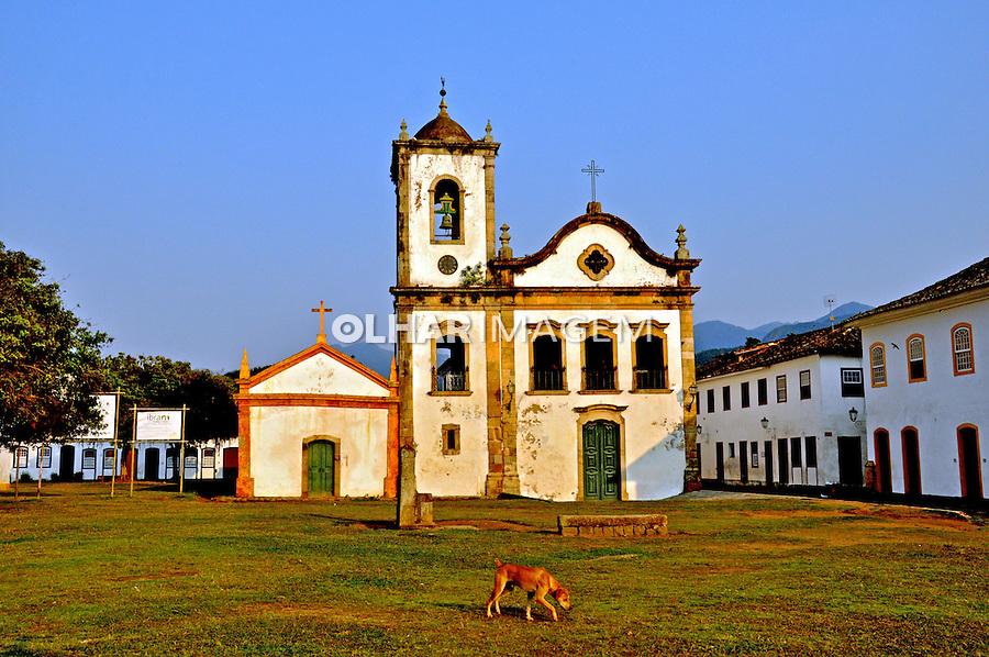 Igreja na cidade historica de Paraty. Rio de Janeiro. 2015. Foto de Alberto Viana.