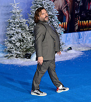 """LOS ANGELES, USA. December 10, 2019: Jack Black at the world premiere of """"Jumanji: The Next Level"""" at the TCL Chinese Theatre.<br /> Picture: Paul Smith/Featureflash"""