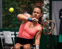 Paris, France, 7 June, 2017, Tennis, French Open, Roland Garros,  Wheelchair women, Marjolein Buis (NED)<br /> Photo: Henk Koster/tennisimages.com