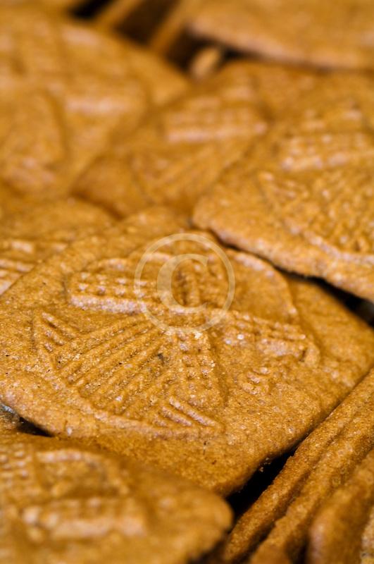 Belgium, Brussels, Speculaas biscuits