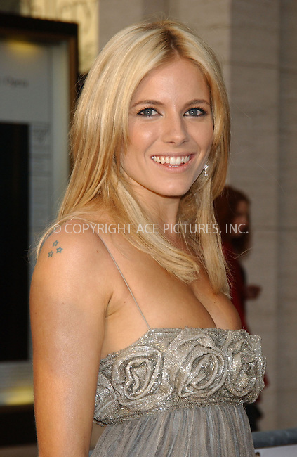 WWW.ACEPIXS.COM . . . . . ....September 25, 2006, New York City. ....Sienna Miller attends the opening of Lincoln Center Metropolitan Opera 2006-2007 season. ....Please byline: KRISTIN CALLAHAN - ACEPIXS.COM.. . . . . . ..Ace Pictures, Inc:  ..(212) 243-8787 or (646) 769 0430..e-mail: info@acepixs.com..web: http://www.acepixs.com