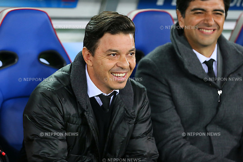 Marcelo Gallardo (River), <br /> DECEMBER 20, 2015 - Football / Soccer : <br /> FIFA Club World Cup Japan 2015 <br /> Final match between River Plate 0-3 Barcelona  <br /> at Yokohama International Stadium in Kanagawa, Japan.<br /> (Photo by Yohei Osada/AFLO SPORT)