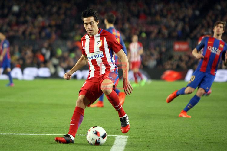 Copa del Rey 2016/2017 - Semifinal vuelta.<br /> FC Barcelona vs Atletico Madrid: 1-1.<br /> Nico Gaitan.