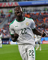 (180624) -- YEKATERINBURG, June 24, 2018 -- Moussa Wague of Senegal celebrates scoring during the 2018 FIFA World Cup WM Weltmeisterschaft Fussball Group H match between Japan and Senegal in Yekaterinburg, Russia, June 24, 2018. ) (SP)RUSSIA-YEKATERINBURG-2018 WORLD CUP-GROUP H-JAPAN VS SENEGAL ChenxCheng PUBLICATIONxNOTxINxCHN  <br /> YEKATERINBURG 24-06-2018 Football FIFA World Cup Russia  2018 <br /> Japan - Senegal / Giappone - Senegal<br /> Foto Xinhua/Imago/Insidefoto