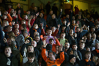 27th December 2019; Dens Park, Dundee, Scotland; Scottish Championship Football, Dundee Football Club versus Dundee United; Dundee United fans  - Editorial Use