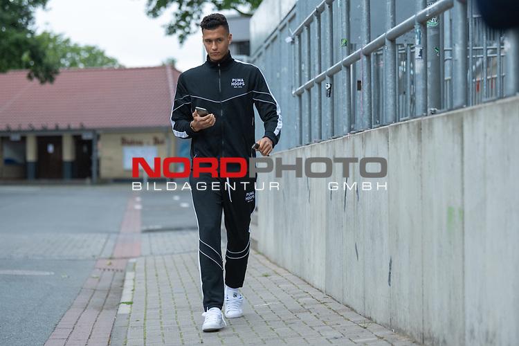 07.07.2020, Trainingsgelaende am wohninvest WESERSTADION,, Bremen, GER, 1.FBL, Werder Bremen - der Tag nach Heidenheim, im Bild<br /> <br /> <br /> <br /> Davie Selke  (SV Werder Bremen #09)<br /> <br /> <br /> Foto © nordphoto / Kokenge