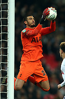 Paulo Gazzaniga of Tottenham Hotspur during Tottenham Hotspur vs Chelsea, Caraboa Cup Football at Wembley Stadium on 8th January 2019