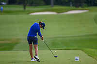 Carlota Ciganda (ESP) hits her tee shot on 2 during the round 3 of the KPMG Women's PGA Championship, Hazeltine National, Chaska, Minnesota, USA. 6/22/2019.<br /> Picture: Golffile | Ken Murray<br /> <br /> <br /> All photo usage must carry mandatory copyright credit (© Golffile | Ken Murray)