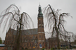Church in Lisse, Netherlands,