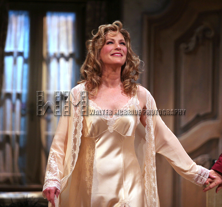Patricia Kalember.during the Opening Night Curtain Call for the Roundabout Theatre Company's Broadway Production of 'Don't Dress For Dinner' at the American Airlines Theater on 4/26/2012 in New York City.