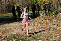Herculaneum's Danielle Prince runs to victory in the Class 2 District 1 race.