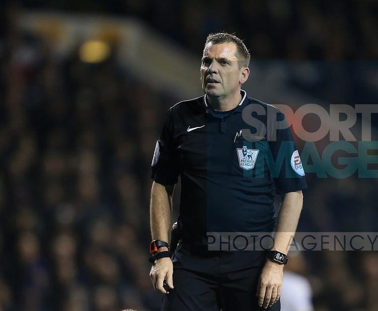 Referee Phil Dowd in action<br /> <br /> Barclays Premier League - Tottenham Hotspur vs Chelsea - White Hart Lane  - England - 1st January 2015 - Picture David Klein/Sportimage