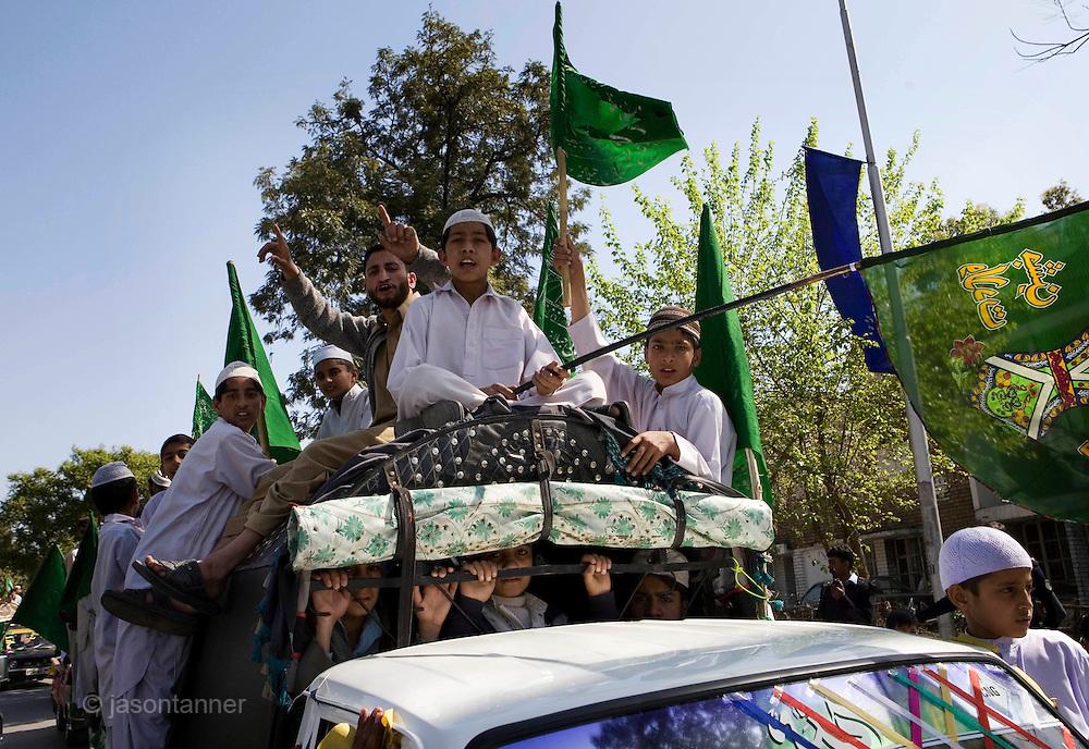 Eid-Milad-un-Nabi: Celebration of the Prophet's birthday