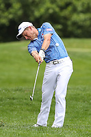 Bethesda, MD - July 2, 2017: Peter Mainati shot from the rough during final round of professional play at the Quicken Loans National Tournament at TPC Potomac  in Bethesda, MD, July 2, 2017.  (Photo by Elliott Brown/Media Images International)