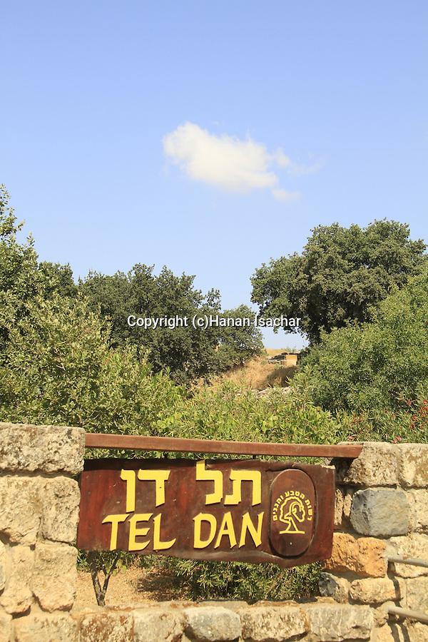 Israel, Tel Dan in the Upper Galilee