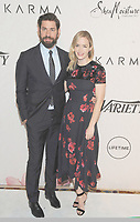 NEW YORK, NY - APRIL 13: John Krasinski and Emily Blunt at Variety's Power Of Women: New York at Cipriani Wall Street in New York City on April 13, 2018. <br /> CAP/MPI/JP<br /> &copy;JP/MPI/Capital Pictures