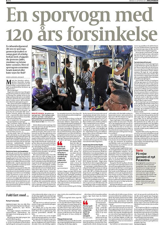 Politiken, Denmark - September 18, 2011