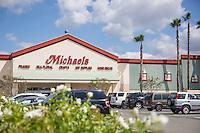 Michael's Arts & Craft Store in Savi Ranch in Yorba Linda California